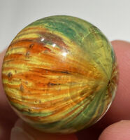 "OUTSTANDING GERMAN Spotty ONIONSKIN Original Marble Beauty 13/16"" Fantastic NM+"