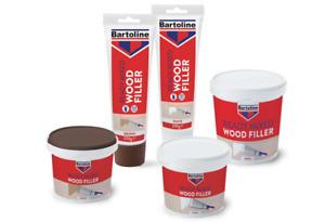 BARTOLINE TUBE/TUB WOOD FILLER SEALANT READY MIXED QUICK DRY INTERIOR/EXTERIOR