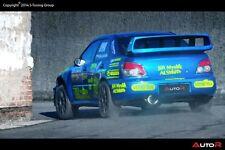 Subaru Impreza 2002-2007 WRX/STi Heckspoiler, Rear Boot Spoiler, Trunk Spoiler