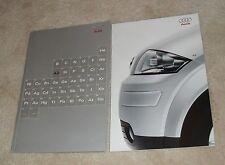 Audi A2 Brochure 2000 Rare - 1.4 & 1.4 TDI