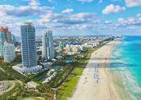 A1 | Miami Beach Florida Poster Art Print 60 x 90cm 180gsm America Gift #12609