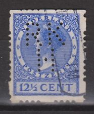 Roltanding 47 PERFIN RKH SPECIAL  CANCEL Netherlands  Nederland syncopated