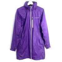 Helly Hansen Ladies Purple Waterproof Raincoat Jacket Coat Size Large