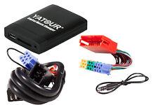 Yatour USB SD AUX MP3 Adapter + Bluetooth Adapter Freisprechanlage Audi