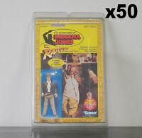 50 x Protective Figure Case For Indiana Jones 3 3/4 Inch MOC Action Figures