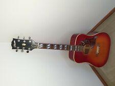 Acoustic Guitar, Phenix, red