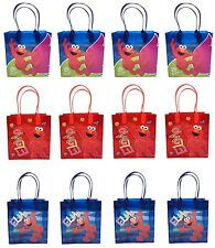 (24ct) Elmo Birthday Bags Goody Bags Gift Bags Loot Bags Goodie Bags