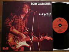 Rory Gallagher - Live in Europe - GER 1972 - Polydor 2383 112 - Blues - TOP Mint