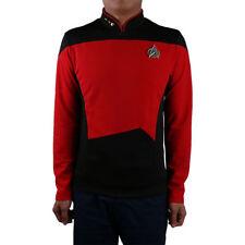 New Star Trek Red Shirt Starfleet Uniform Cosplay Star Trek TNG Uniform Costume