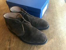 Sanders Mens Brown Suede Chukka Boot (Chesham). UK 9 With Box Worn Once
