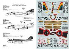 *RARE* MICROSCALE DECALS 1/48 F-4N Phantom VMFA-531 323 A-6E Intruder (USMC/USN)
