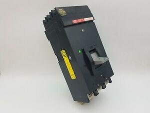 Square D LH36400 Circuit Breaker 400 Amp 3 Pole 600 VAC 250 VDC I-Line Used