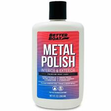 Metal Polish Metal Cleaner and Chrome Polish Marine Grade for Boats and Cars A..