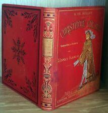 CHRISTOPHE COLOMB de BELLOY - Livres anciens grandes découvertes Histoire