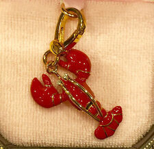 RARE Juicy Couture 2008 LOBSTER Charm HTF!!!! YJRU1769