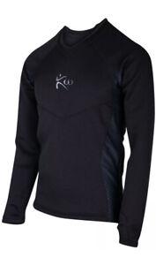 KUTTING WEIGHT LOSS SAUNA SUIT LONG-SLEEVE BLACK SHIRT NEOPRENE XL Excellent