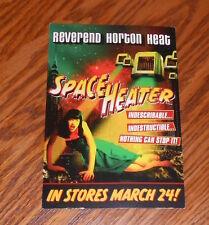 Reverend Horton Heat Space Heater Postcard Promo 6x4