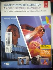 Adobe Photoshop Elements 9 & Adobe Premiere Elements 9 Windows & Mac OS