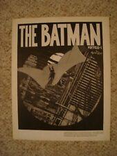 Marshall Rogers the Batman Portfolio 1981 Sal Quartuccio