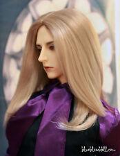 "1/3 bjd 9-10"" doll head beige blonde wig dollfie Feeple65 Soom ID Pullip JD078XL"