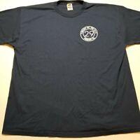 Pomeroy Fire Department Pennsylvania T-Shirt Mens 2XL Blue EMS %66