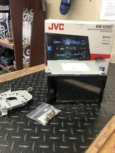 "JVC KW-V25BT 6.2"" Touchscreen Multimedia Receiver Monitor w/ DVD Radio Blu"