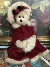 "2001 Bearington Collection Christmas Bear MISSY MISTLETOE 16"" Tags 1168 Retired"