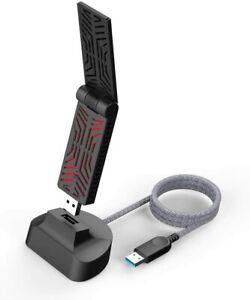 WAVLINK AC1900 USB 3.0 WiFi Adapter, Dual Band Wireless Network Adapter for Wifi