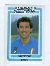 figurina CALCIO FLASH 1988 NUMERO 171 NAPOLI BAGNI