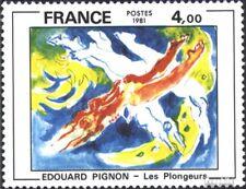 Frankrijk 2286 gestempeld 1981 Edouard Pignon
