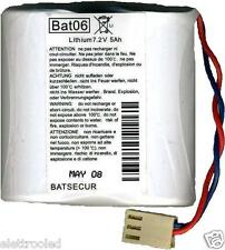 BATTERIA BAT06 BATLI06 LITIO LITHIUM 7.2V 5AH PER SISTEMI DI ALLARME LOGISTY