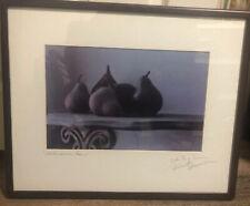 Z Gallerie Wall Art, Renaissance Pears Signed By Artist Robert Dennison **RARE**