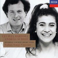 CECILIA BARTOLI - ANDRAS SCHIFF : ITALIEN SONGS - BEETHOVEN, SCHUBERT,... / CD