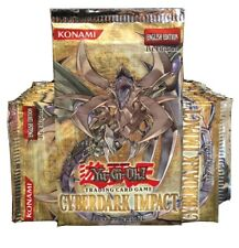 YuGiOh Cyberdark Impact First Edition Sealed Booster Pack X24 Loose Box Lot