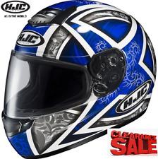 NEW HJC Motorcycle Helmet XL Yamaha blue Fibreglass Lighweight HJC Daggar Road