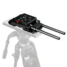 CAMVATE ARRI Dovetail QR Baseplate With 15mm Double-rod For Sony VCT-U14 Tripod