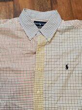 Unique POLO RALPH LAUREN Multi Pattern L/S Button-Up shirt - Men's XL