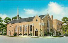 Postcard North Side Christian Church Chicago Illinois IL