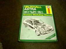 VAUXHALL ASTRA 1980 - 1984 USED HAYNES W/SHOP MANUAL