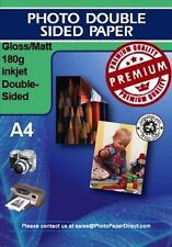 PPD Double Sided Photo Paper Glossy / Matt180g X 50