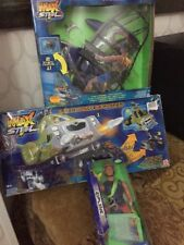 Lotto Max Steel Mx28 Jungle XPlorer Mx 33 WIND Raider Zip Line Mattel No Big Jim
