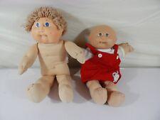 Lot of 2 Vintage Cabbage Patch Kids Dolls (1982)