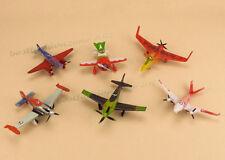 Disney Plane - 6 Piece Planes Racers PVC Figure Playset TV Movie Toys Loose Pack