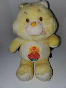"Vintage Care Bears 1983 Kenner Size 12"" Plush Stuffed Birthday Bear 🐻"