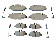MERCEDES VITO CDi W639 2004-2014 FRONT & REAR BRAKE PADS + SENSORS CHECK CHOICE