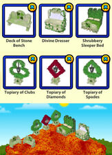 !!Choose 2!! Webkinz Gamers Garden Theme (item availability in 2nd photo)