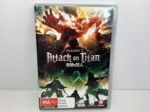 Attack On Titan Complete Season 2 DVD - R4 - Free Tracked Postage!
