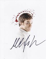 MICHAEL C HALL SIGNED 8X10 COLOR PHOTO DEXTER MORGAN AUTOGRAPH