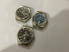 LOT OF 3 X STUNNING RADO AUTO GENTS WATCHES,(RL-08)