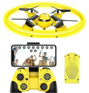 RC Remote Control Drone Aerial Aircraft HD Camera Phone Connection - With App